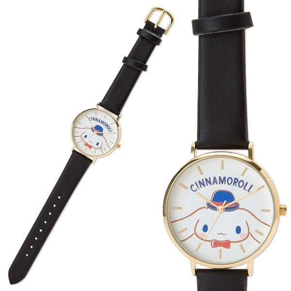 41+ 現貨不必等 正版授權 大耳狗皮革錶帶腕錶手錶《黑》4901610395721 my4165