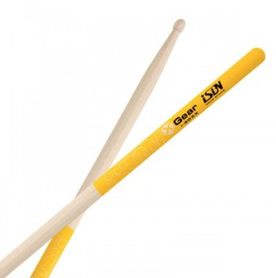 〖好聲音樂器〗iSBN 5C 防滑鼓棒 X裝備黃色防滑鼓棒 (i-303X) 5C 爵士鼓鼓棒