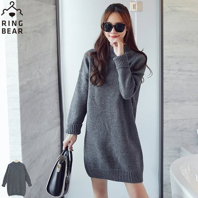 Joy.Joy home 東森購物品牌 韓風 經典灰色 長版上衣 修飾 針織/羊毛 10% L號 299元起
