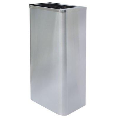 『2組免運』不銹鋼擦手紙箱sp-75ss/單分類資源回收桶/清潔箱/廁所紙巾桶/廢紙桶/環保垃圾桶/清潔桶/不繡鋼垃圾桶