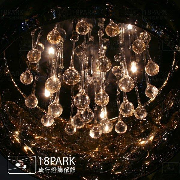 【18 Park 】奢華浪漫 絢麗閃耀 Meteorite [ 隕石吊燈 ]
