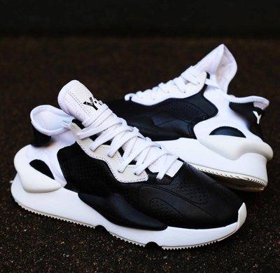 【路克 Look】愛迪達 Adidas Y3 Kaiwa 男鞋 女鞋 山本耀司 EH1398 白色 黑色 忍者鞋 皮革