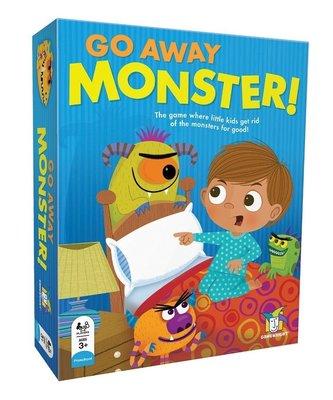 小園丁 桌遊 怪獸快走開 Go Away Monster 正版桌遊 3y 5y 7y