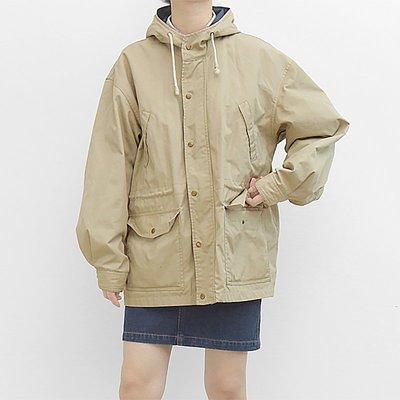 袁先生の家 法式少女工裝男朋友Boyish復古夾克風衣情侶款外套 秋冬