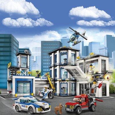 新風小鋪-樂高積木城市系列警察局消防局兒童益智力拼裝玩具男孩子5-14周歲