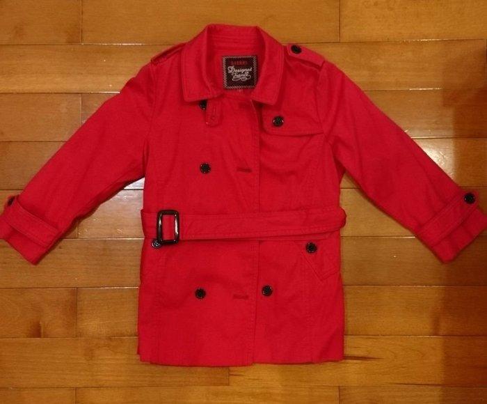 女童類Burberry紅外套