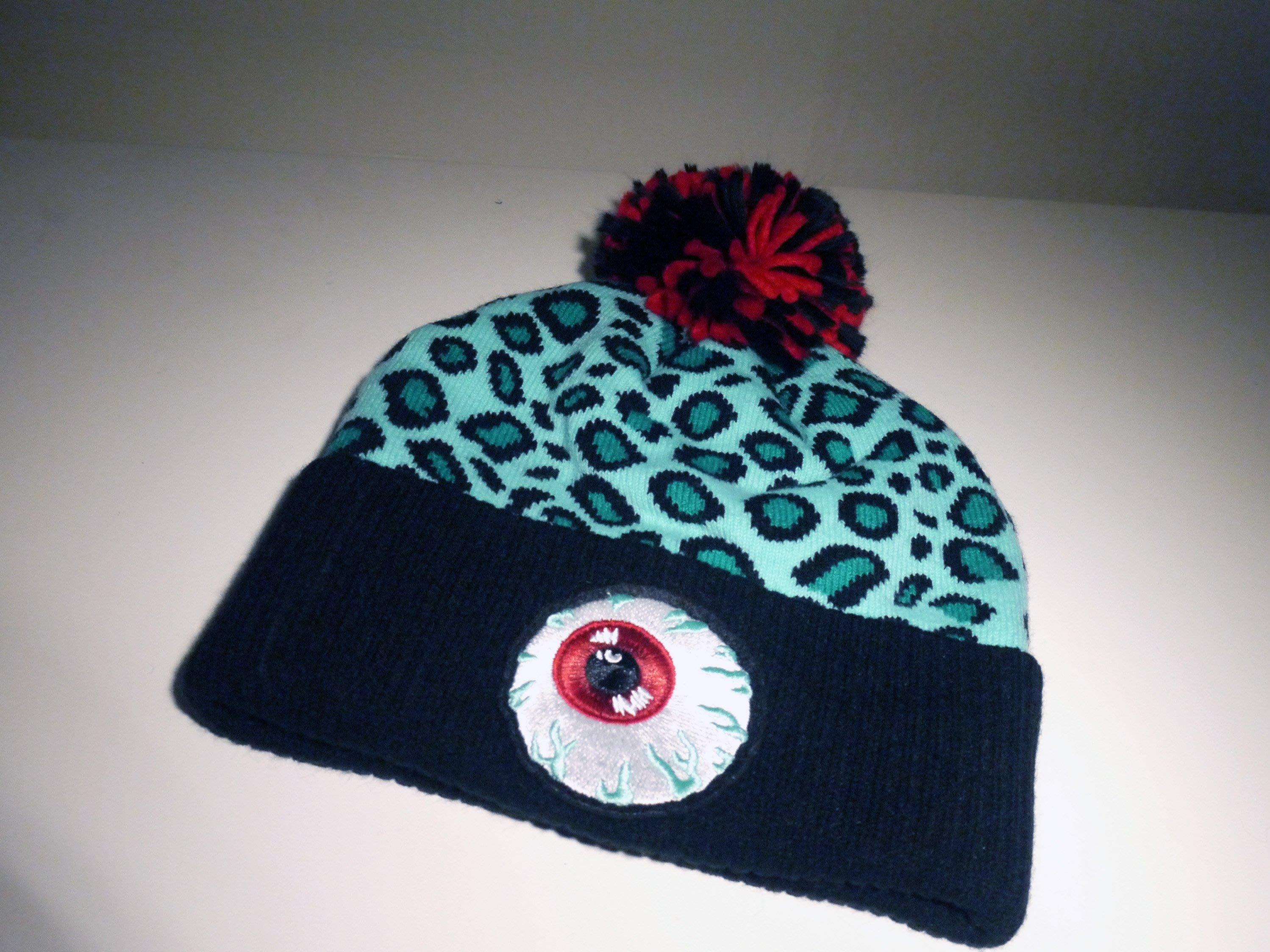 89c1f1f8fd9 Spun Shop  New Era x Mishka Safari Keep Watch Pom Beanie 毛帽