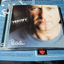 【198樂坊】Phil Collins 菲爾柯林斯Testify(Wake Up Cll...台版)BE
