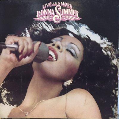 §小宋唱片§ 美版/Donna Summer – Live And More/二手西洋黑膠/2LP