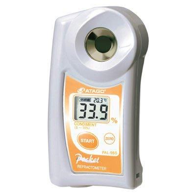 TECPEL 泰菱》調味料計 日本 ATAGO 愛宕 PAL-98S 數位袖珍型 防水/自動溫度補償 現貨