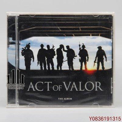 爆款CD.唱片~勇者行動 海豹神兵 Act of Valor 原聲 CD [U]