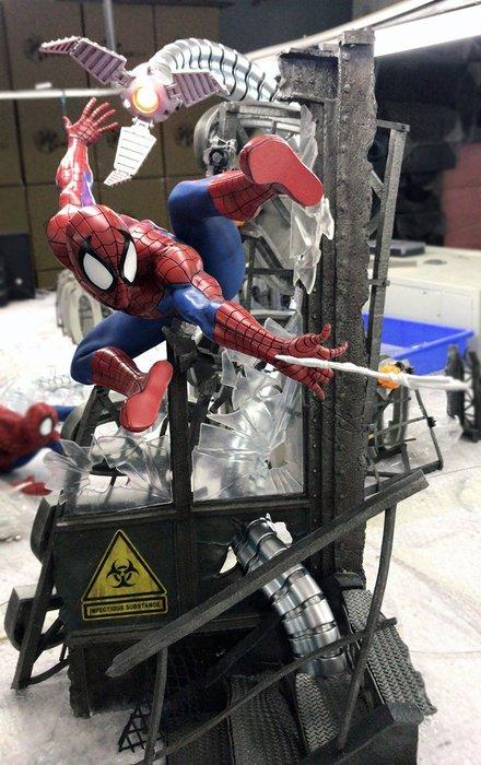 【預購】GK定制,iron巴西廠復仇者聯盟蜘蛛人手辦GK模型雕像