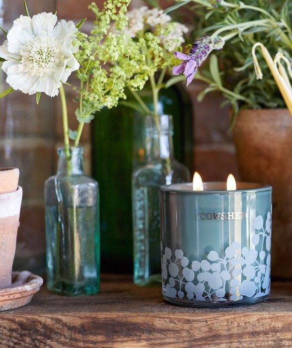 香氛 ◎英國◎ COWSHED 英國頂級香氛 專業SPA 20週年紀念蠟燭 香氛蠟燭 雙蕊 限量 400g