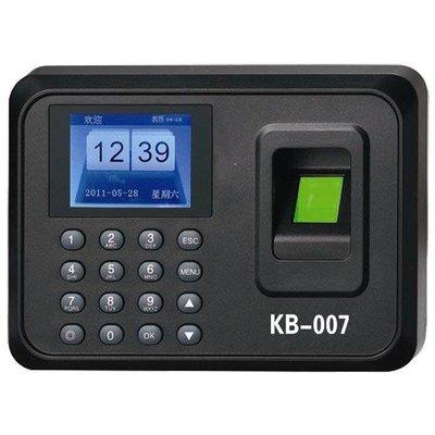 哆啦本鋪 打卡鐘 寬邦KB00 7考勤機 指紋機 D655