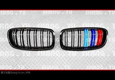 BMW F30 F31 M3 雙槓 三色 水箱罩 12 13 14 15 16 17