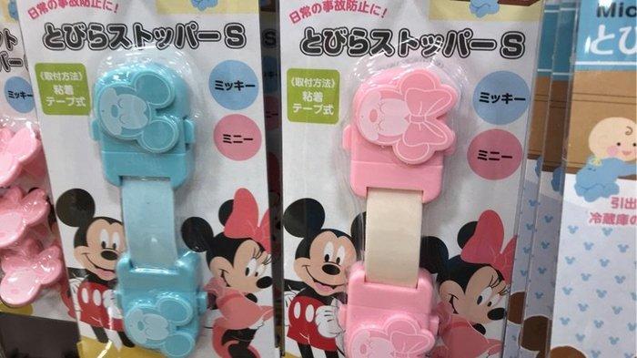 【東京速購】保護幼兒安全~迪士尼Disney 米奇寶寶/米妮寶寶 櫥櫃安全鎖
