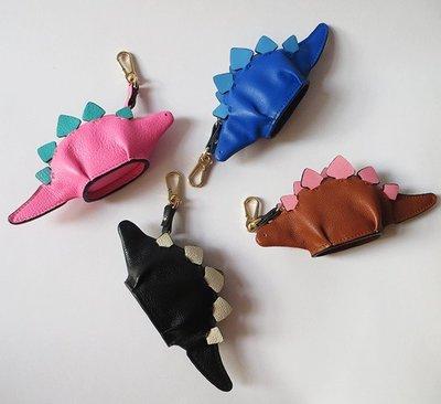 美國設計品牌恐龍動物造型真皮零錢包 聖誕獻禮
