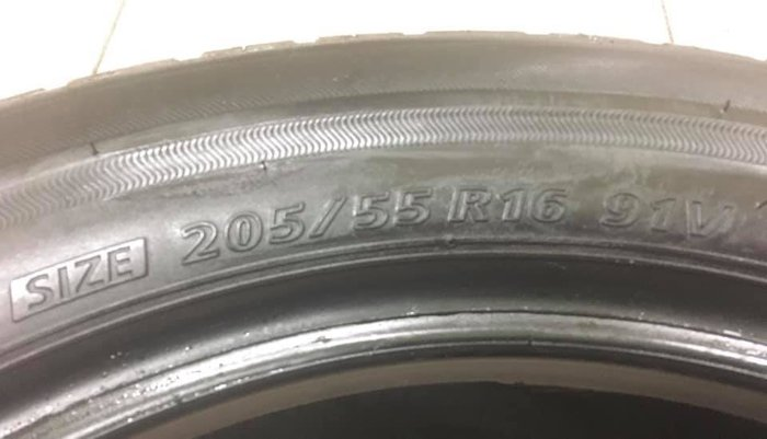 【優質輪胎】普利司通NH100_205/55/16_單條19年九成新(胎紋約6.3mm_205-55-16)三重區