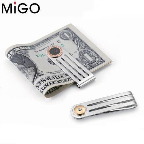 【永恆典藏館】MIGO 316L醫療鋼【簡約】時尚錢夾 耶誕禮物 生日禮物 不會氧化 不會退色 免運