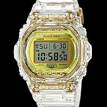 Casio G-shock 35週年 DW-5735E-7 DW-5700 透明 made in Japan