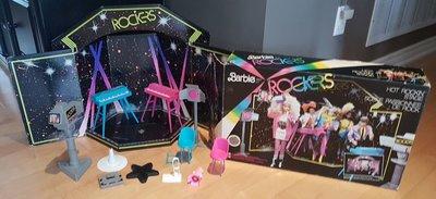 代購 芭比 barbie the rockers stage 搖滾樂舞臺 場景配件1985