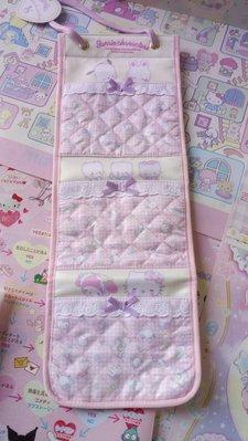 雙子星店 Sanrio 小奶樽 Baby  粉紅雜物掛袋      Kitty Melody PC狗 Cheery Chums 日本