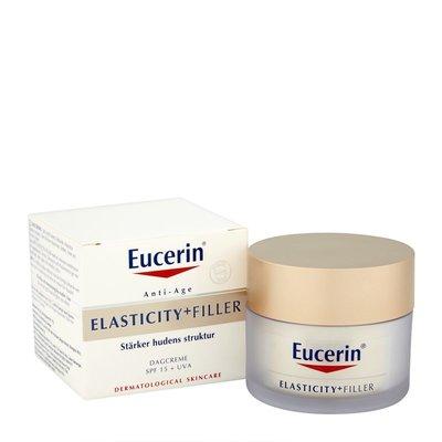 你想要的美妝都有 現貨Eucerin 優色林ELASTICITY+FILLER璀璨金顏防曬SPF15日霜50ml