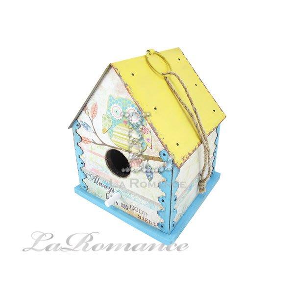 【芮洛蔓 La Romance】小木屋鳥籠造型掛飾