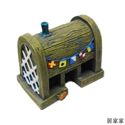 魚缸裝飾 魚缸造景擺飾 菠蘿屋躲避穴 海綿寶寶的家 魚缸造景卡通擺件魚蝦躲避穴全館免運價格下殺
