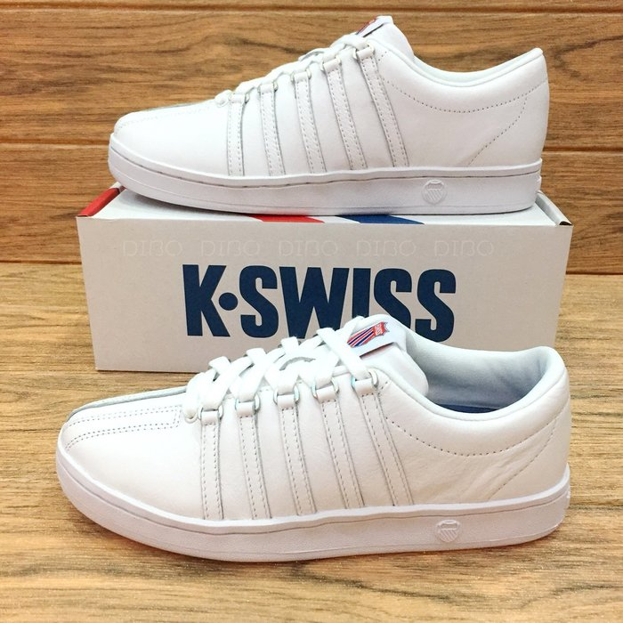DIBO -現貨 K SWISS CLASSIC 88 經典皮質 女生 休閒運動鞋(全白)kswiss-女鞋.小白鞋