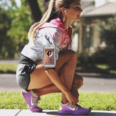 跑步手機臂包男女健身運動手機臂套可觸屏蘋果x8華為vivo三星臂袋