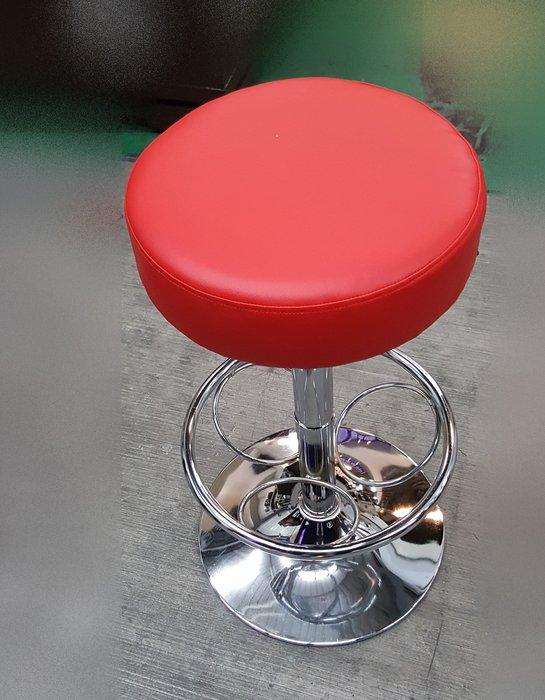 二手家具 台中 宏品全新中古傢俱買賣 EAB340-1AJC*全新高級PU厚泡棉升降吧檯椅*櫃台椅 高腳椅 電腦書桌椅
