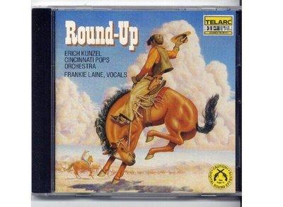 TELARC1986 Erich Kunzel 康澤爾 Round-Up 西部大趕集 正美盤