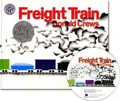 *小貝比的家*Freight Train /平裝書+JYCD/3~6歲/交通工具 Things That Go