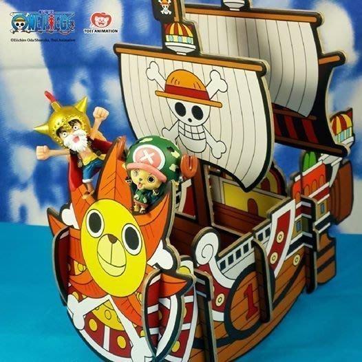 航海王 海賊王  造型置物架 單售【千陽號、黃金梅莉號、羅的潛水艇,九蛇海賊船,海軍】