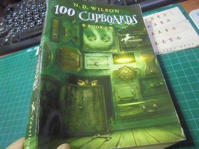 100 cupboards N.D.wilson英文閱讀小說平裝讀本位4-2美美書房