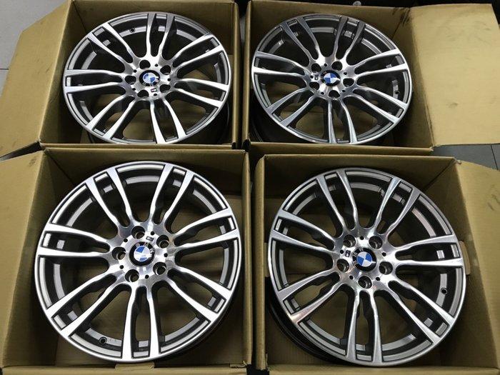 代客寄賣 原廠鋁圈 BMW F32 428 M版 19吋鋁圈 5孔120 前後配 品像良好 F30 F31 F32