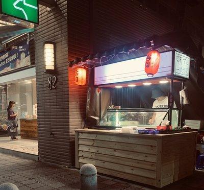 日式冰箱行動攤車