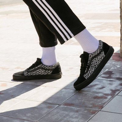 Vans OTW-AF Pack OFF THE WALL結合歌德字體復古元素 男女鞋
