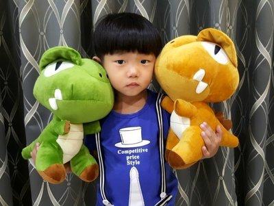 可愛恐龍玩偶~侏儸紀公園~暴龍娃娃~高約33公分~網路熱銷~恐龍娃娃~生日禮物~交換禮物