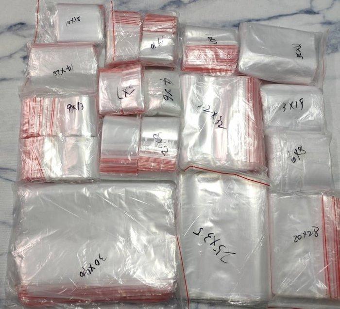 【♥豪美禮品♥】4*6cm500個0.08mm賣場 PE夾鏈袋 自封袋 透明袋 密封袋 包裝袋 封口袋 飾品袋 防塵袋