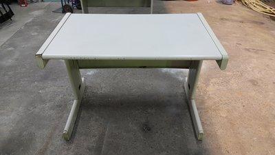 樂居二手家具 全新中古傢俱 CE0102EJJ 白面OA桌*辦公桌 書桌 電腦桌 工作桌 台中二手辦公家具專賣店
