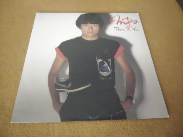 【杜比唱片】 黑膠唱片 ~  近藤真彥  //  THANK 愛 YOU        (日版)  *** LP ***