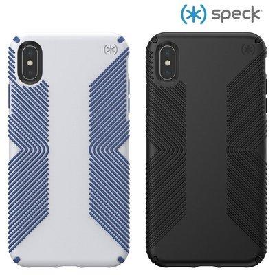 Speck iPhone Xs/X/XR 防手滑3米防摔保護殼 Presidio Grip 背蓋 喵之隅