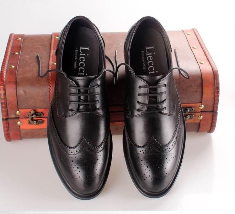香港義大利設計師專接日本訂單 DIOR風 明星愛用手工款 黑色棕色黑白配色巴洛克真皮皮鞋