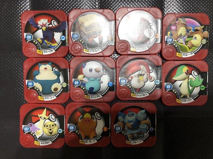 百貨公司機台落卡神奇寶貝Pokemon tretta方型卡匣第12彈 Z2彈級別二星11張一組