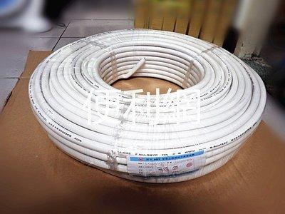 5.5m㎡×2C電纜線 圓形 600V 聚氯乙烯絕緣及被覆電纜 100M -【便利網】