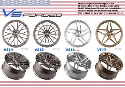 全新美國VERTINI 18吋鋁圈 客製規格顏色 VS16 VS17 VS18 VS19 VS20 VS21 全系列鍛造