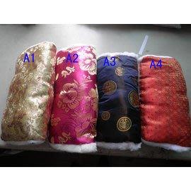 綢緞布暖手筒 暖手寶 暖手套 暖手抱枕-大約長34*寬16cm  筒圍大約12cm