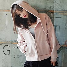 【M.S.FeeL】連帽T恤女粉色開衫大牌薄款外套韓版bf寬鬆ulzzang學生棒球服潮-免運費